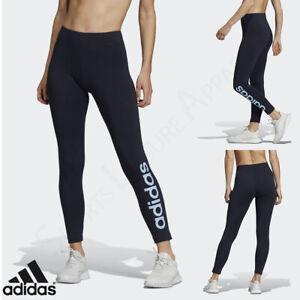 ADIDAS Womens Leggings Ladies Yoga Gym Fitness Pants Size 12 14 16 18 20 M L XL