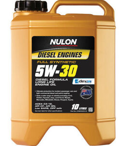 Nulon DPF Diesel Long LIfe Full Synthetic Car Engine Oil 5W-30 10 Litre