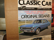 HEMMINGS CLASSIC CAR MAGAZINE MARCH 2011 ORIGINAL SEDANS 1909 PIERCE ARROW