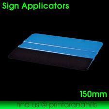 Vinyl Car Wrap Applicator Soft Felt Edge Plastic Squeegee Tool - 150mm #3901