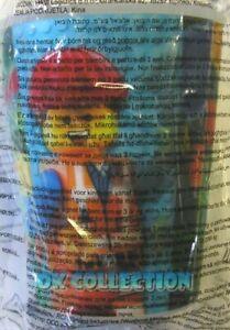 HAPPY MEAL MC DONALD'S Bicchiere Plastica The Lego Movie 2014 EMMET (sigillato)