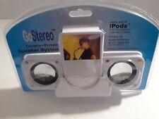 Go Stereo Foldable Portable Ipod Speaker System
