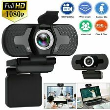 1080P HD USB Zoom Webcam For PC Desktop Laptop Web Camera With Microphone / FHD