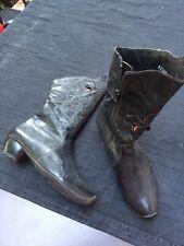 Think! Stiefel Schuhe, braun, Leder, Gr.38, Damen