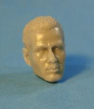 """MH260 Custom Cast Male head for use with 3.75"""" GI Joe Star Wars Marvel figures"""