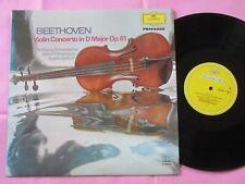 BEETHOVEN Violin Concerto Wolfgang Schneiderhan Berlin Philharmonic Jochum DG LP