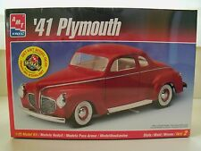 AMT / ERTL - (1941) '41 PLYMOUTH COUPE - MODEL KIT (SEALED)
