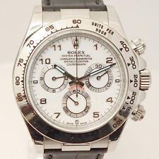 Rolex Daytona 18ct oro bianco-Ref. 116519 di 2008-CON CERTIFICATO ORIGINALE