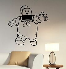 Marshmallow Man Vinyl Sticker Ghostbusters Wall Decal Movie Art Room Decor ghs2