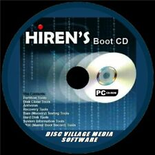 HIRENS BOOT DISC TOOLS CD BACKUP FIX SLOW RUNNING CRASHES ANTI VIRUS PC/LAPTOP