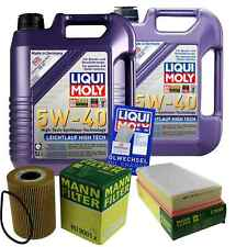 Inspection Kit Filter LIQUI MOLY Oil 10L 5W-40 for Porsche Cayenne 955 S/4.8
