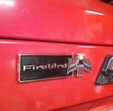 Pontiac Firebird vintage Emblem magnet/for your Snap on toolbox .