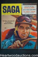 Saga Dec 1957 Dutch Schultz, Vicki Dougan, Alfonso De Portago - Ultra High Grade