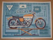 DKNG Studios Dave Matthews Band Berkeley CA Concert Poster Print Signed Numbered