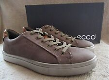 ECCO Kyle Navajo Brown Oiled Nubuck Leather Lace Shoes US 10 - 10.5 M EUR 44 NWB