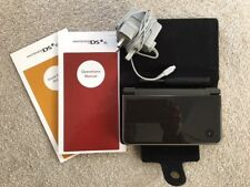 Nintendo Used DSi XL Glossy Dk Brown Handheld Console, Case, Stylus's & Charger