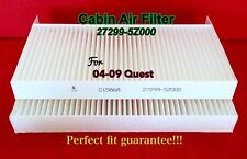 C15868 Set of 2 Cabin Air Filters for 04 05 06 07 08 09 Quest 100%Feedback