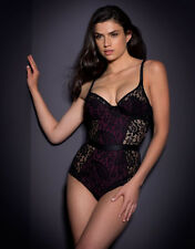 AGENT PROVOCATEUR NICOLLE BODY CORSET SMALL 8-10 AP2 BNWT RRP £295