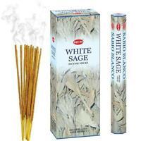 HEM White Sage Incense Sticks - Original HEM Incense Hand-Rolled in India
