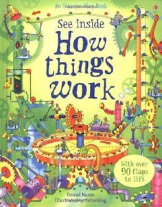 How Things Work (See Inside) (Usborne See Inside),Conrad Mason,Colin King