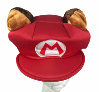 Super Mario Polyester & Foam Hat Nintendo 2016 Adult One Size Disguise Inc.
