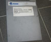 Skoda Favorit Forman Pick-Up Reparaturleitfaden Kraftübertragung 4/92