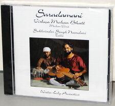 WATER LILY CD WLA-ES-23-CD: SARADAMANI - Vishwa Mohan Bhatt - OOP USA 2002 SS
