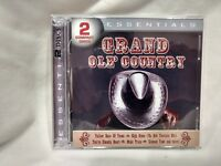Rare Grand Ole' Country Essentials Import 2 CD Set From Legacy cd5269