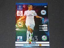 PEPE DEF. ROCK REAL MADRID UEFA PANINI FOOTBALL CHAMPIONS LEAGUE 2014 2015
