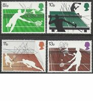 Great Britain 1977 RACKET SPORTS (4) Unhinged Mint SG 1022-5