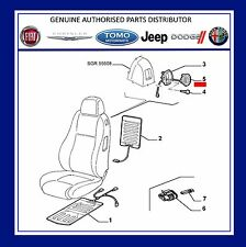 New Genuine Alfa Romeo 147 3 Door & GT NS Left  Seat Handle & Cable 185023960