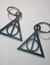 Harry Potter, The Deathly Hallows 3d Printed Keyring, birthday, novelty gift