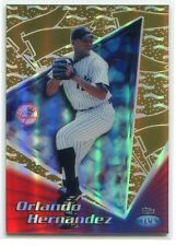 1999 Topps Tek Gold Pattern 20 40a Orlando Hernandez 7/10