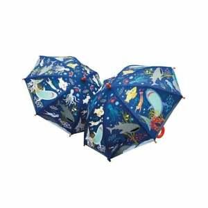 Floss & Rock Deep Sea Colour Changing Umbrella