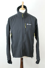 BERGHAUS Extrem Black Softshell Lined Jacket size L