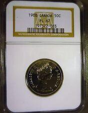 Canada 1988 50c Half Dollar PL67 NGC