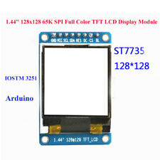 "1.44"" 128x128 65K SPI Full Color TFT LCD Display Module ST7735 OLED for Ardu $m"