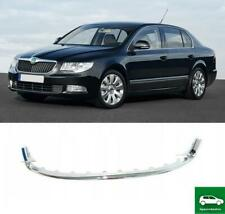 FRONT BUMPER LOWER CENTER GRILL TRIM COVER COMPATIBLE WITH SKODA SUPERB 08-13