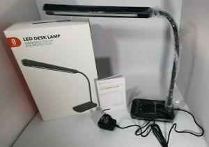 TaoTronics 10W LED Desk Lamp with Flexible Gooseneck, 5 Color Modes and 7 Levels