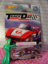 2016 Track Day '78 PORSCHE 935☆Red/White; 7;Real Riders☆Hot Wheels Car Culture