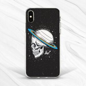 Horror Skull Planet Space Star Skeleton Case For iPhone 6 7 8 Xs XR 11 Pro SE