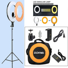 ZOMEI 14-inch Dimmable Ring Light Lighting Kit with Light Stand