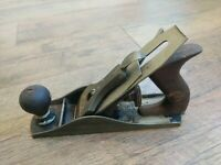 Antique Bailey Smooth Bottom Wood Plane No. 4 Sweetheart Blade Tools Stanley