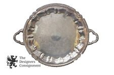 """1 Beautiful 1875 Handled Sheets Rockford S Co Silverplated Serving Tray 14.5"""""""