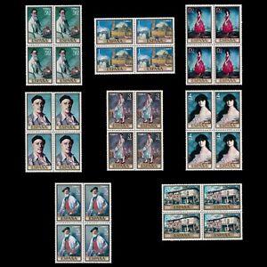 Sellos. España.1971.I.Zuloaga. Serie Blq 4. MNH.Edifil.2019-2026