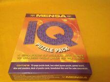 Mensa IQ Puzzle Pack factory sealed SA2