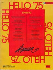 Piano or Vocal: Hello '75 Songbook   14 Songs from 1975