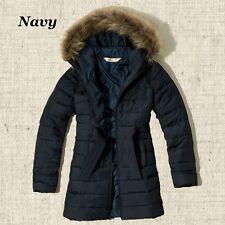 New Hollister Women's Girls Scripps Pier Parka Coat Jacket Size XS