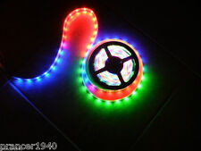 2 Roll 12V Volt LED Crazy Lights System - Tape Rope Lighting Chasing - 32.8 feet