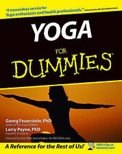 Yoga For Dummies by Georg Fauerstein, Larry Payne